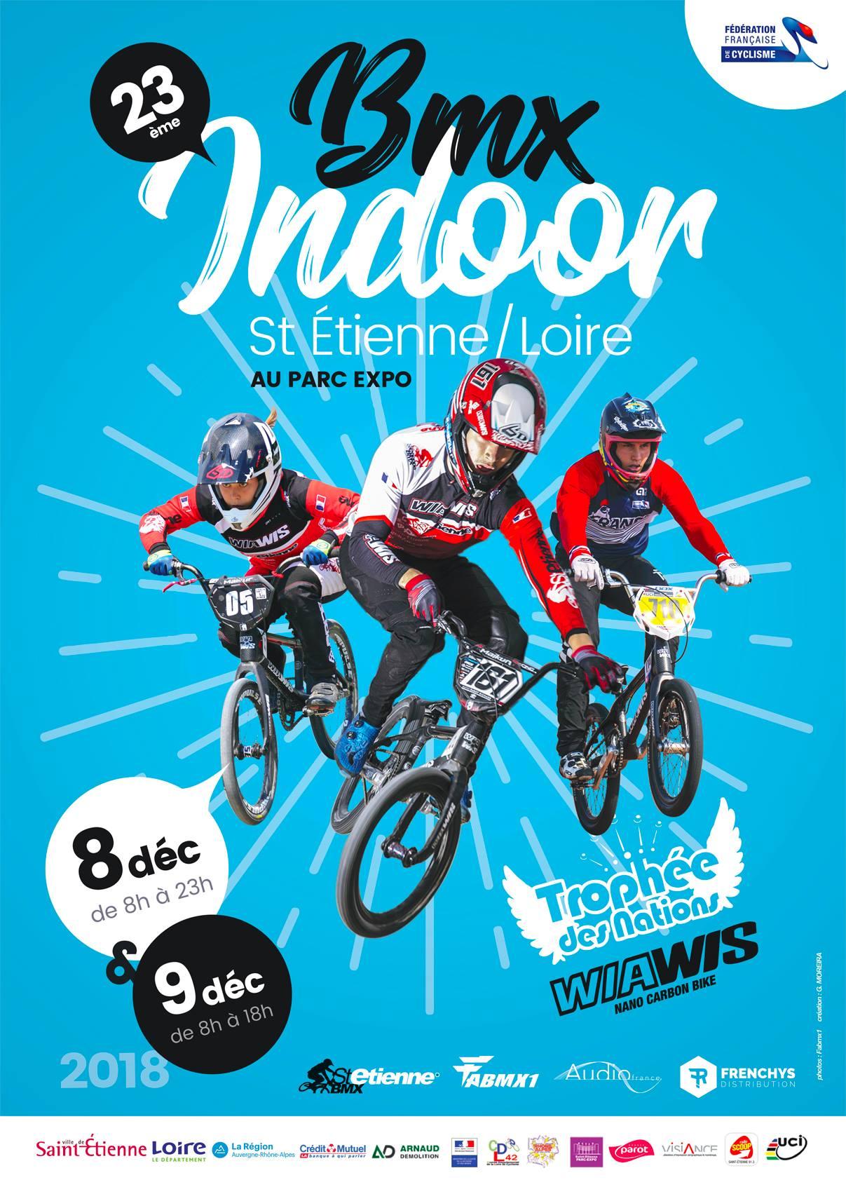 St Etienne Indoor BMX 2018