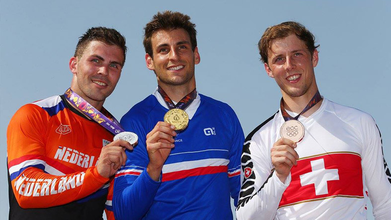David Graf Baku Podium - Swiss Cycling