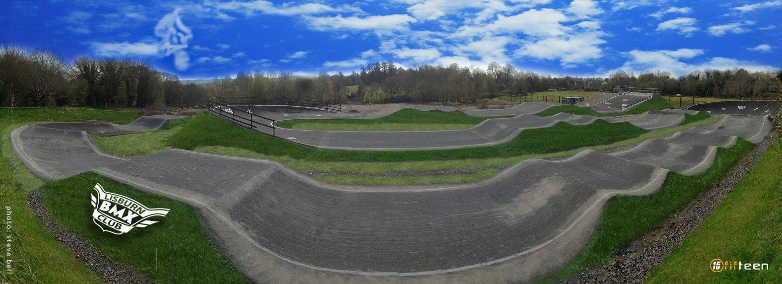 Lisburn BMX Track - Steve Bell & Fifteen