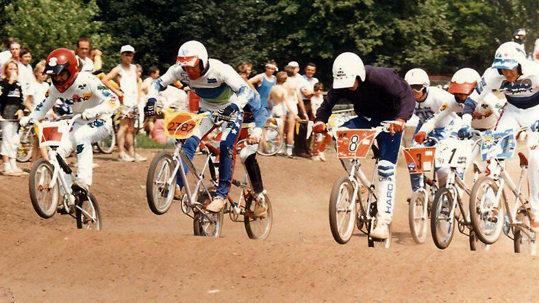 Steve Bell (Zeronine Gear) NBMXA Crew BMX - Keith Granger