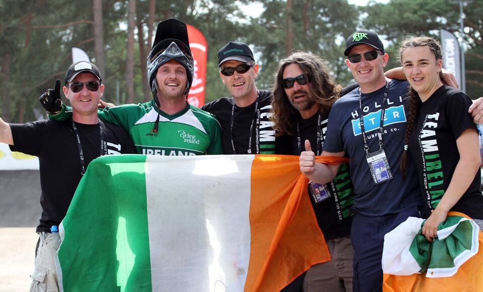 Ireland at BMX Zolder Worlds 2015 - BMX Ireland