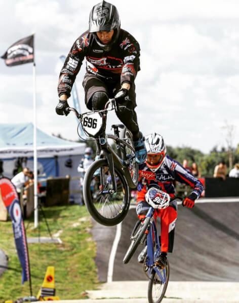 Tre Whyte British BMX Series 2016 - Tre Whyte Instagram