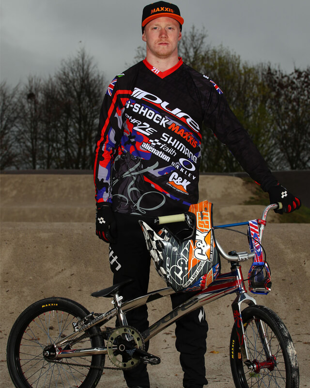Kyle Evans - Maxxis Tyres