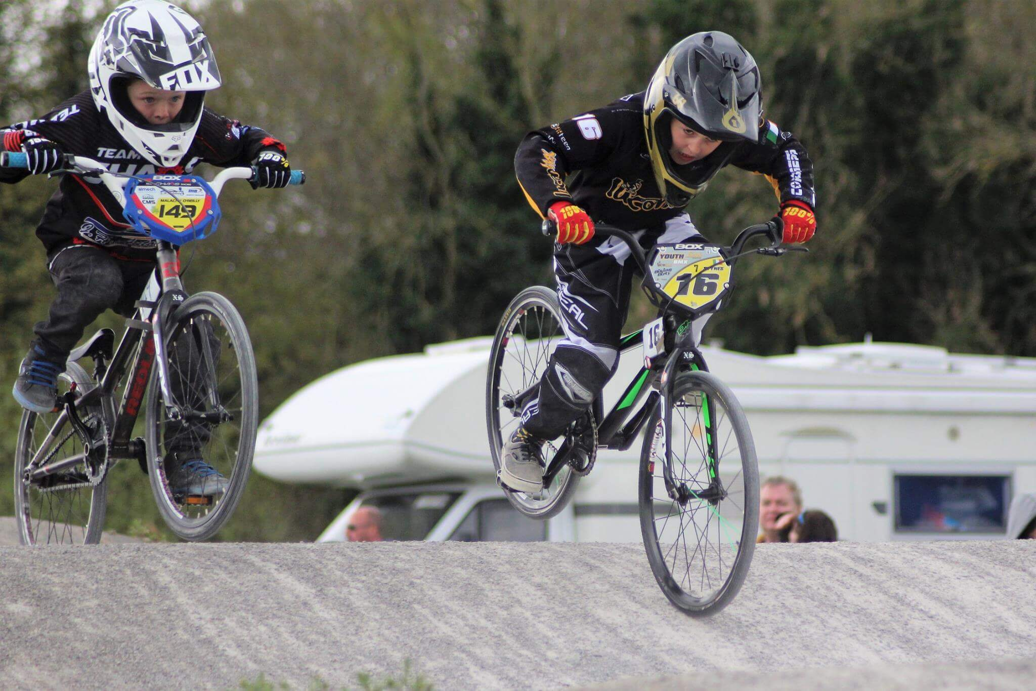 Lucan National 2017 R1 A - Eddie Allen - Belfast City BMX