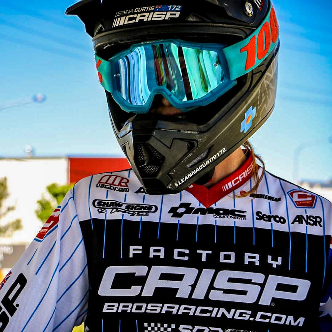 Leanna Curtis Crisp Bros Racing - Leanna Curtis