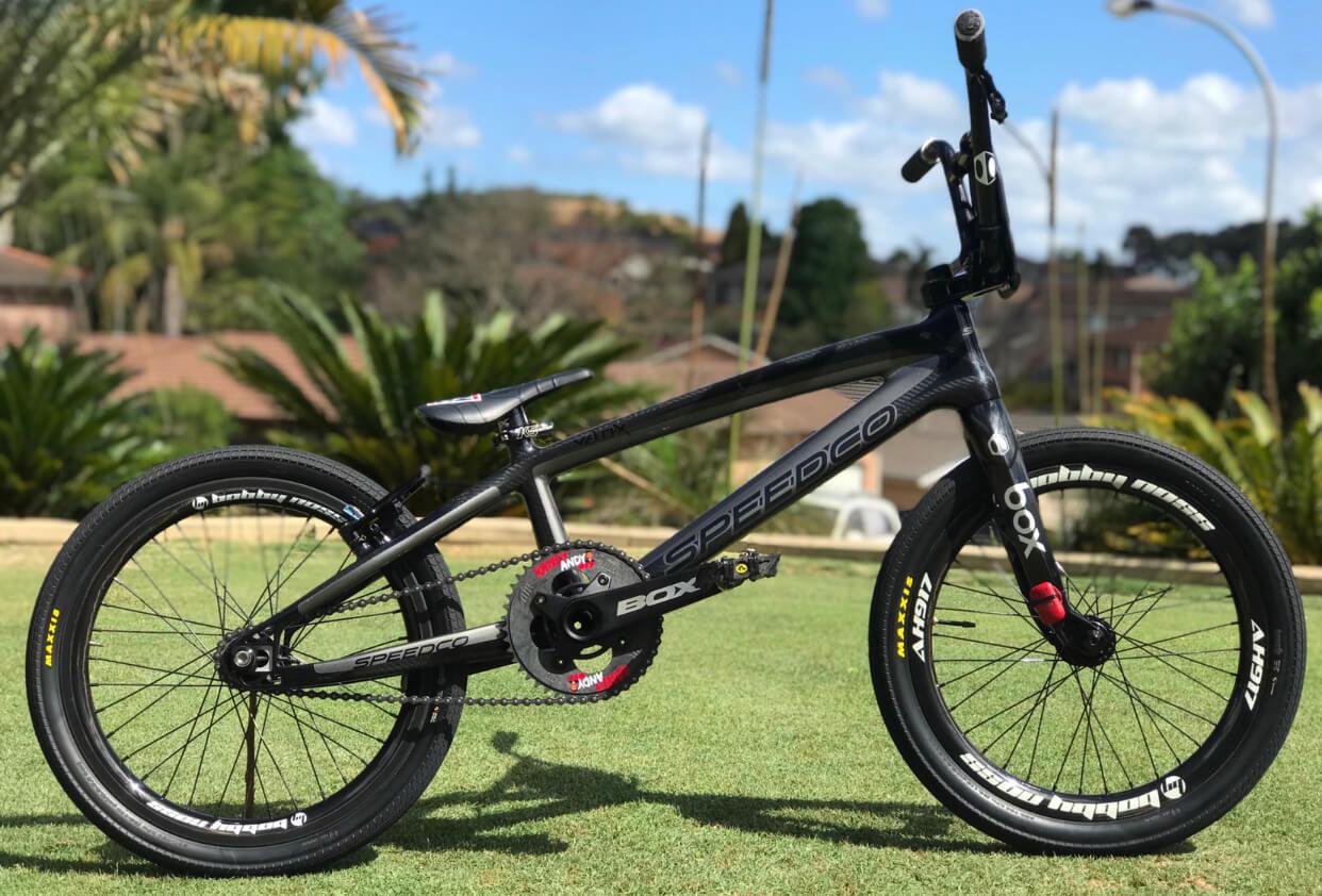 Andrew Hughes - Bike Check