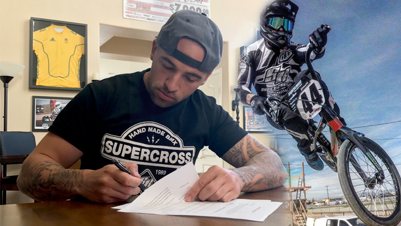 Dean re-signs with Supercross for 2018