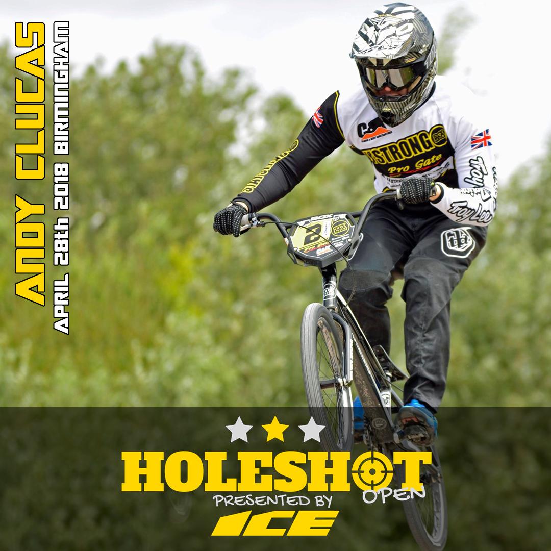 Andy Clucas Holeshot Open