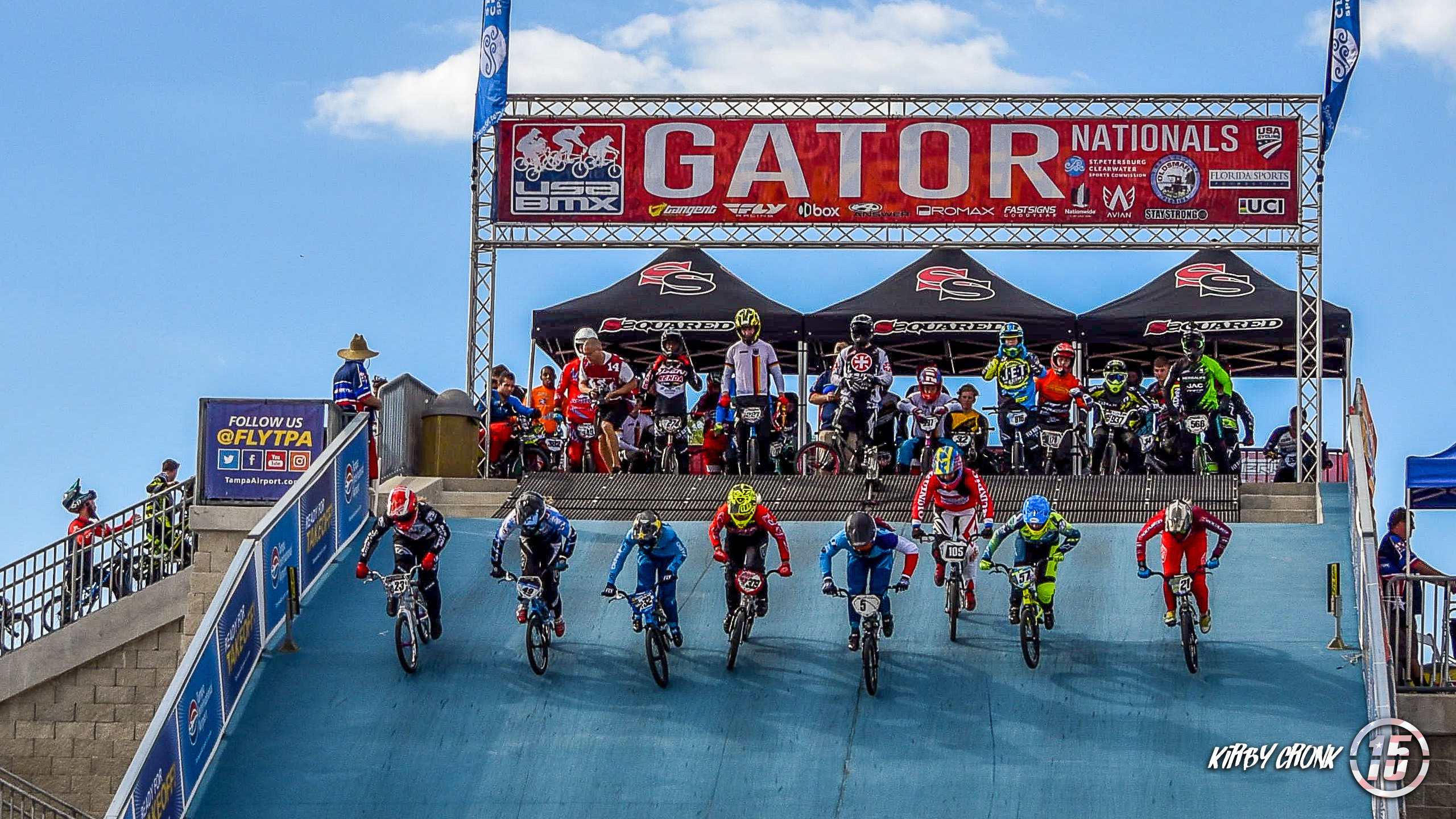 Gator Nationals Day 1 - Kirby Cronk / Fifteen BMX