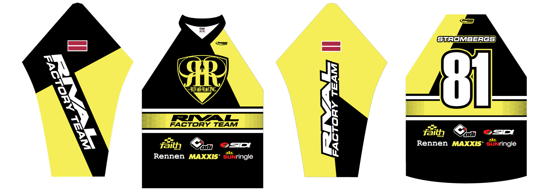 Maris Strombergs Rival Jersey