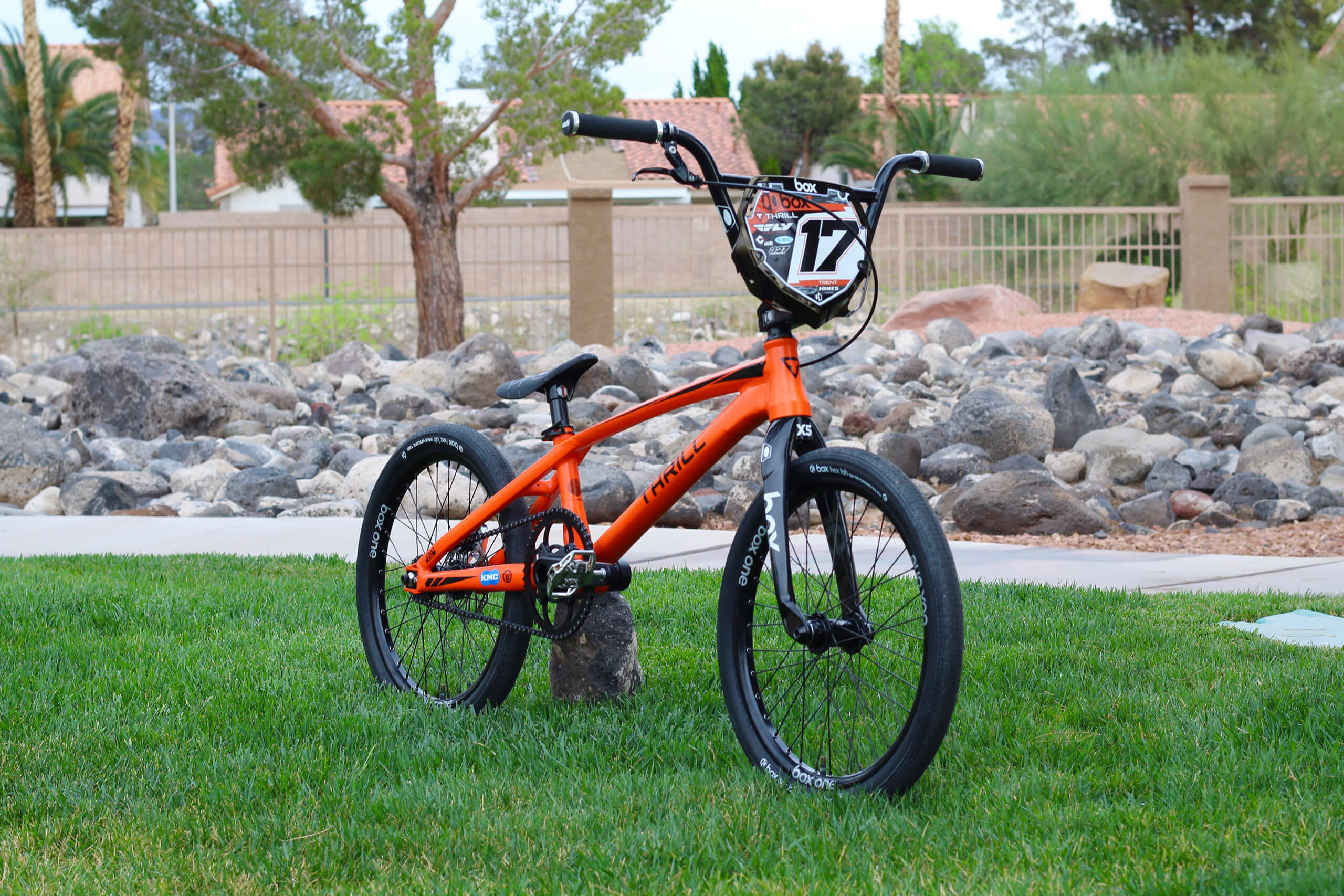 Trent Jones 2018 Disc Bike