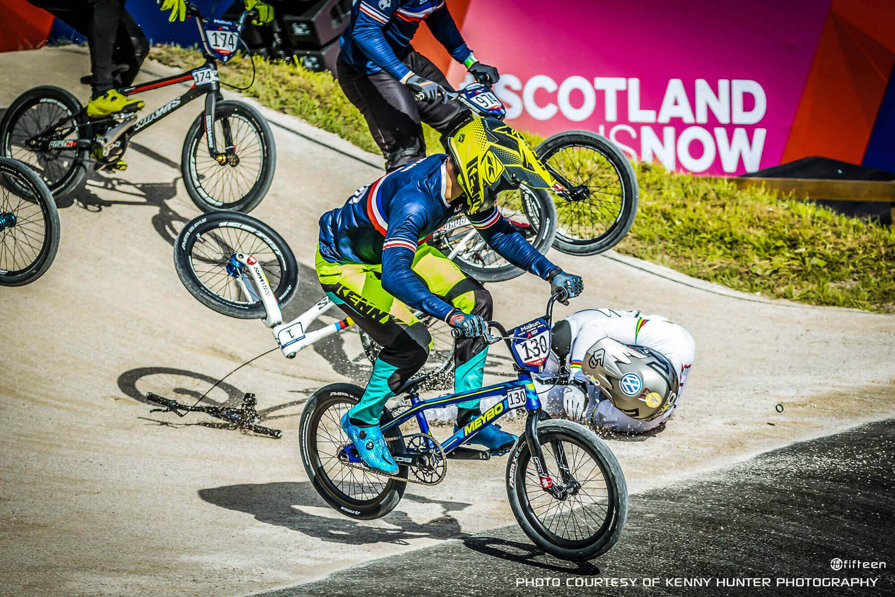 Sylvain Andre Glasgow Crash - Kenny Hunter
