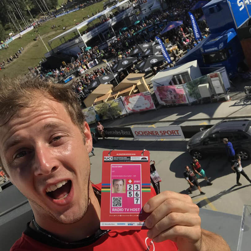 David Graf - MTB Worlds TV Host - David Graf