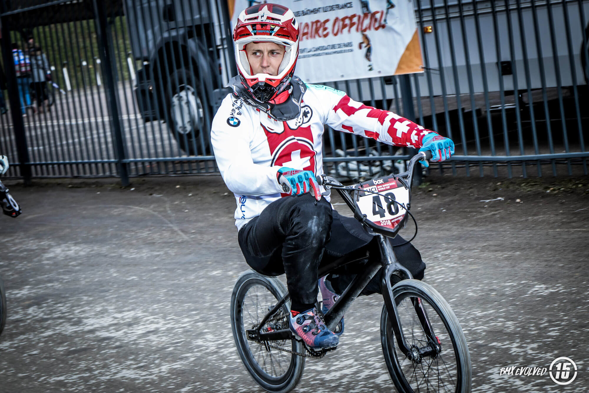 David Graf - UCI SX Paris R1 2018 - Fifteen BMX