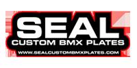 Seal Custom BMX Plates Logo