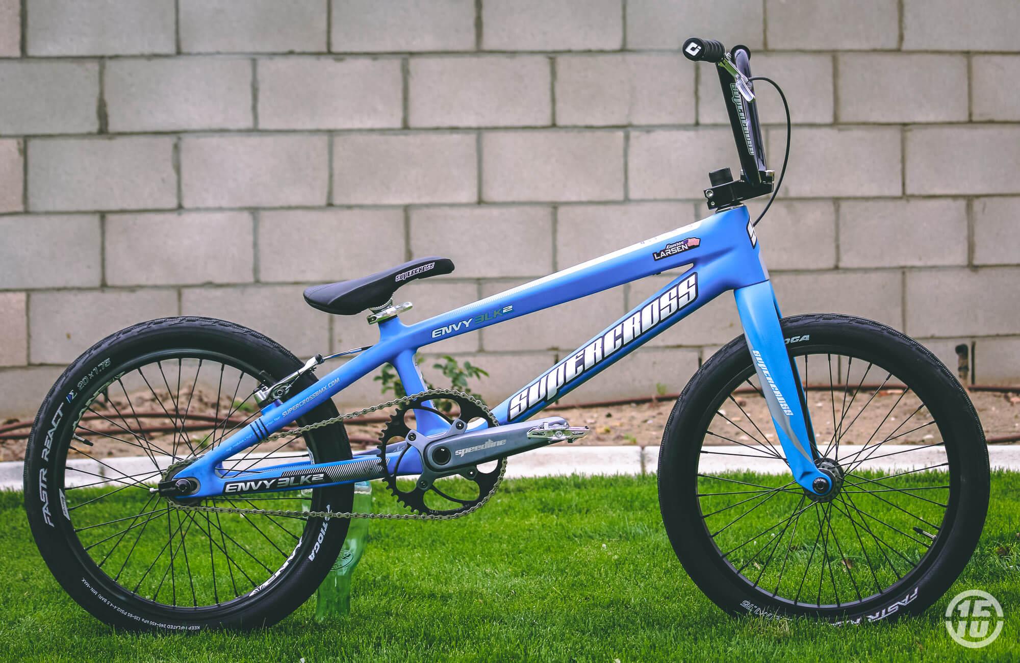Kamren Larsen Flame Blue Supercross BLK2 - Kam Larsen