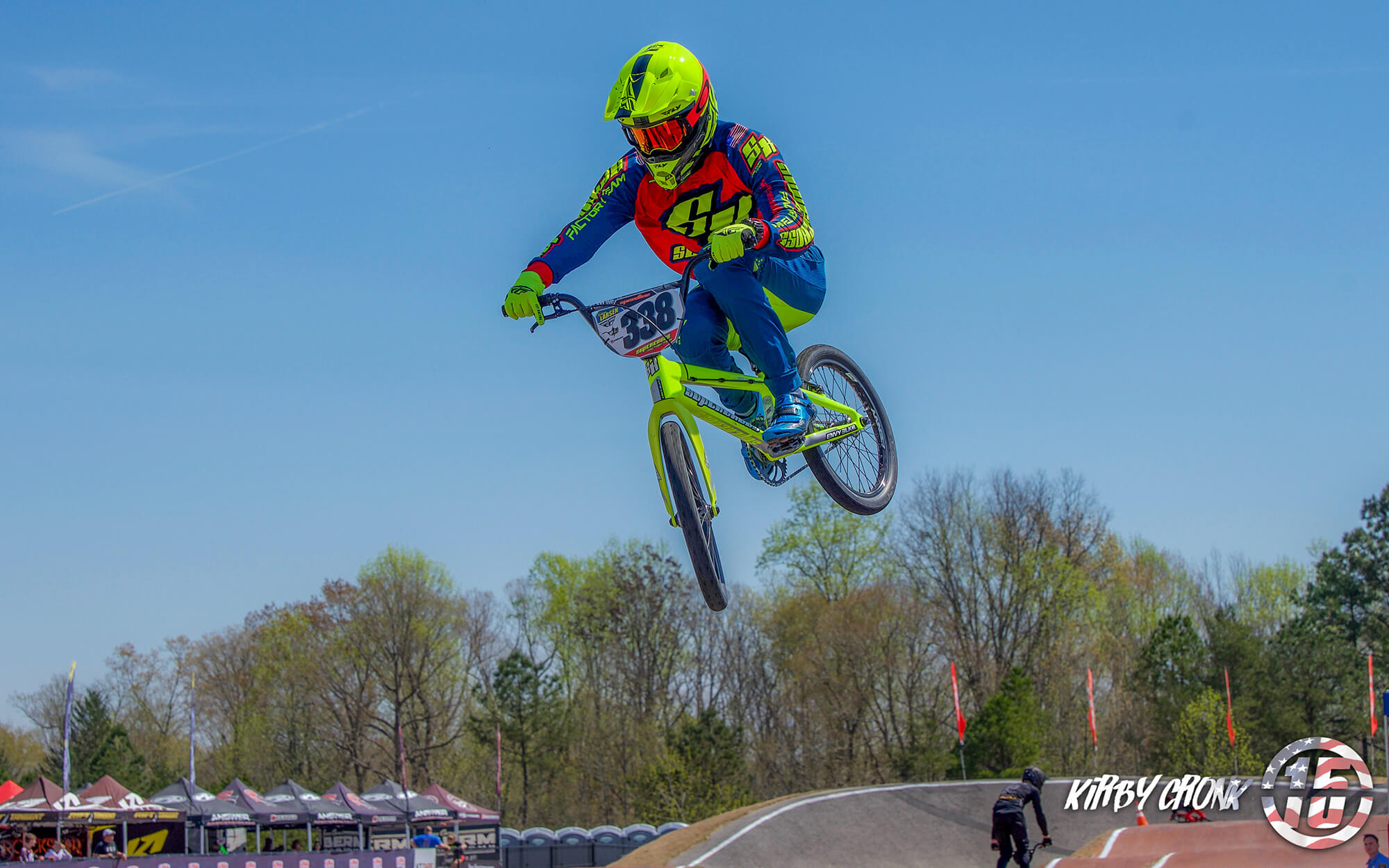 Kamren Larsen Supercross BMX Rock Hill - Kirby Cronk
