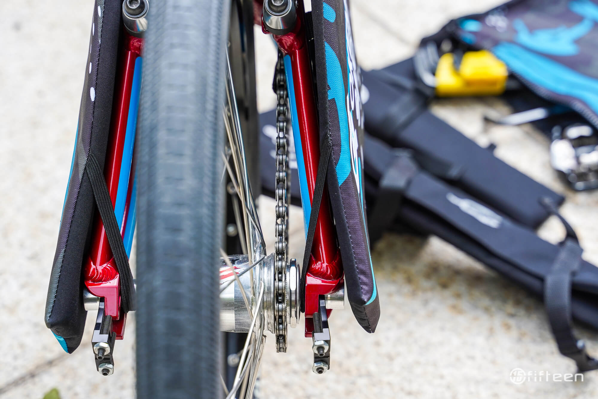 Okendo Travel Pads Rear Straps - Fifteen BMX