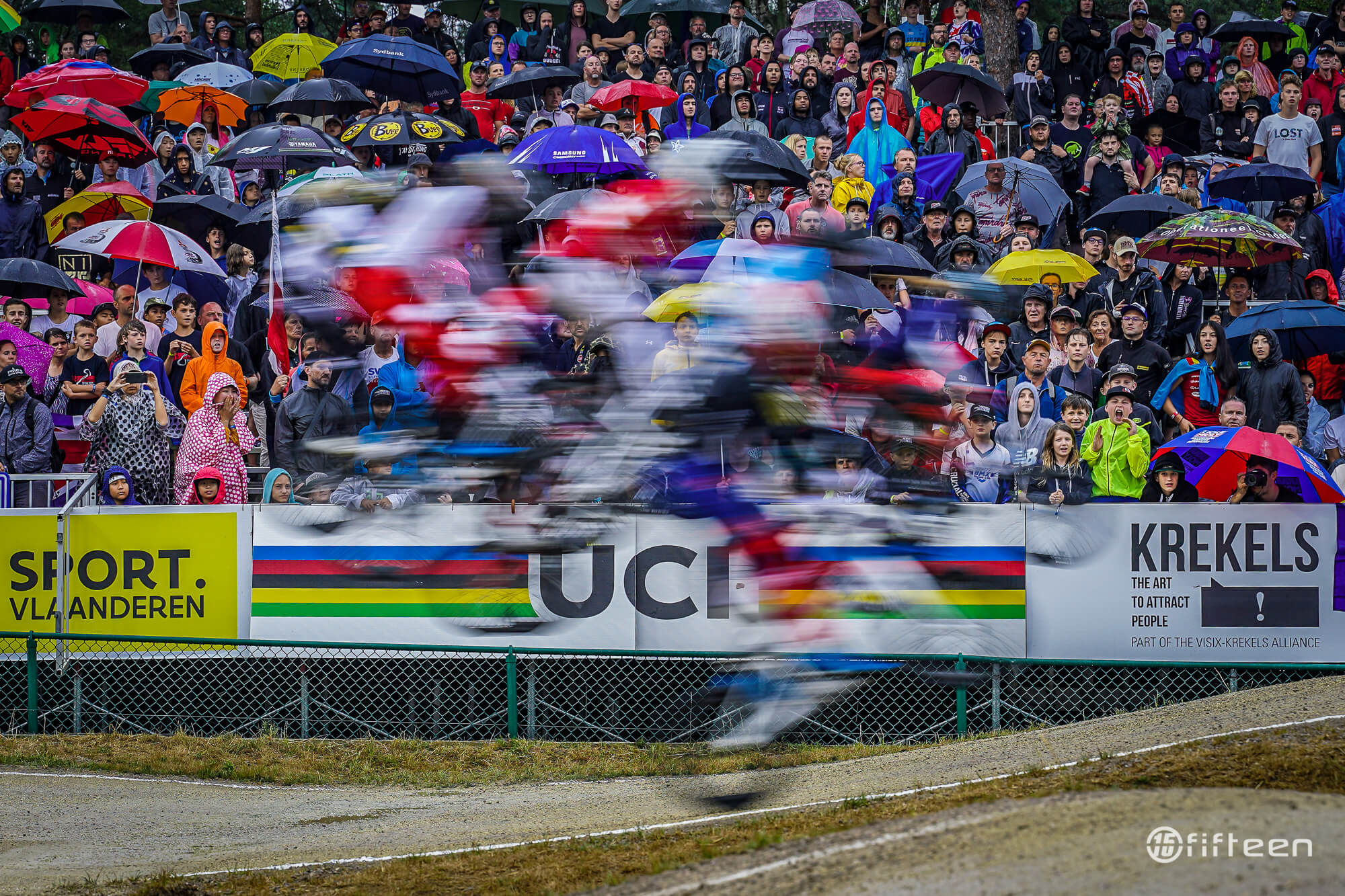 2019 BMX World Championships Zolder Elite Racing - Fifteen BMX