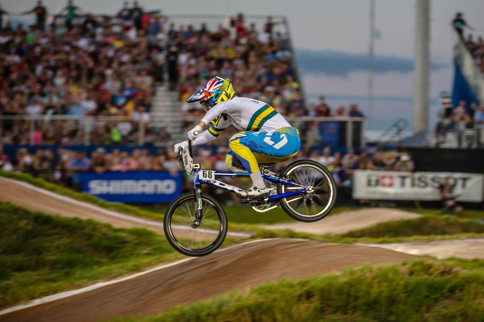 Caroline Buchanan 2017 UCI Worlds - Craig Dutton