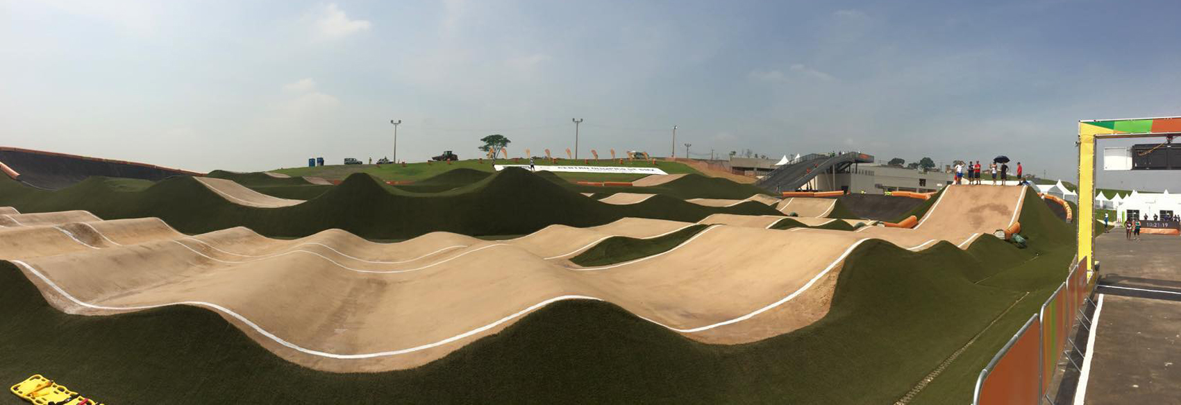 Olympic Test Event Track Image