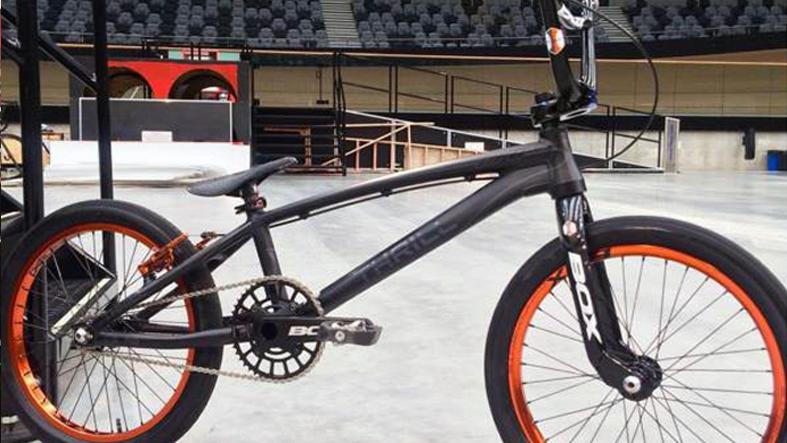 Trent Jones Box Thrill bike
