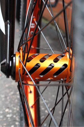 Billy LuckHurst Bike Check - Charlotte Green
