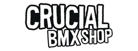 Crucial BMX Shop Logo