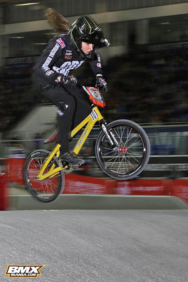 Charlotte Green Manchester UCI SX - BMX Mania