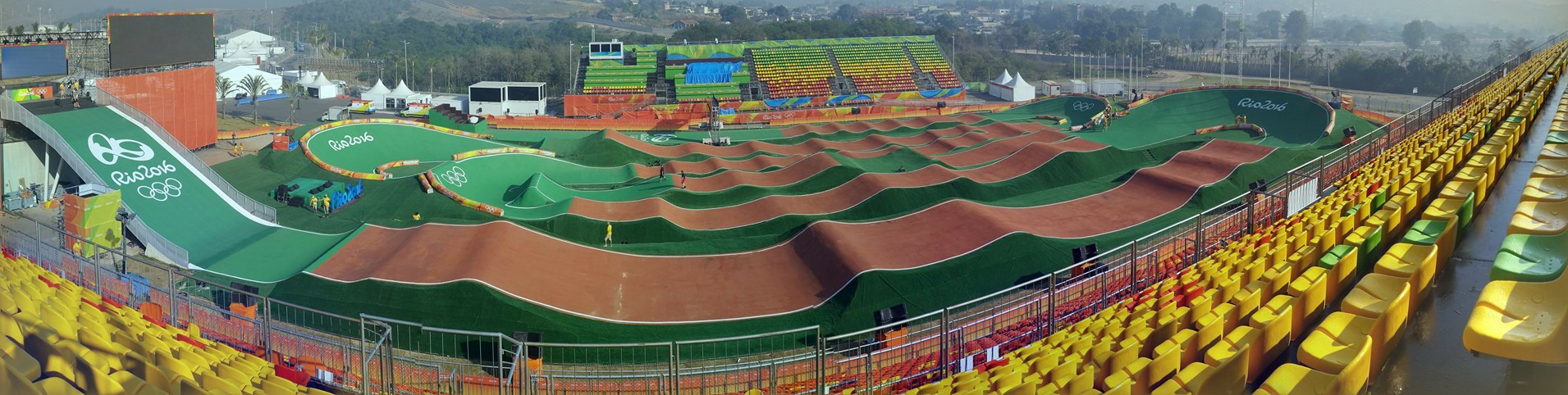 Rio Olympic Track