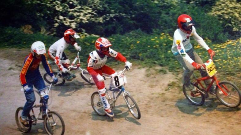 Steve Bell 1988 Lisburn BMX Club - Jon Beckett