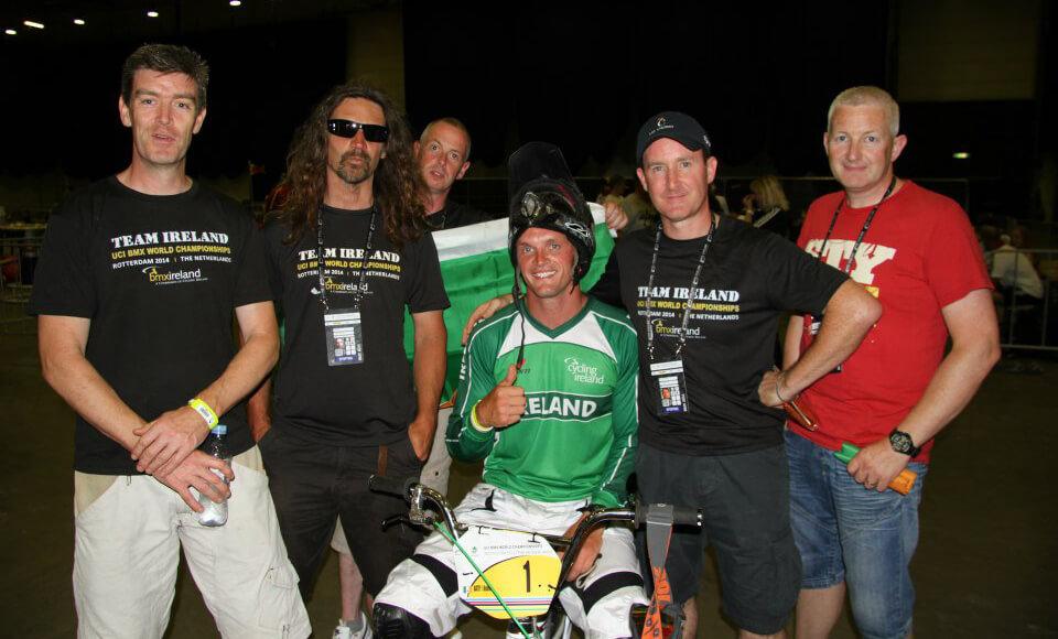 Steve Bell Rotterdam Worlds 2015 - BMX Ireland