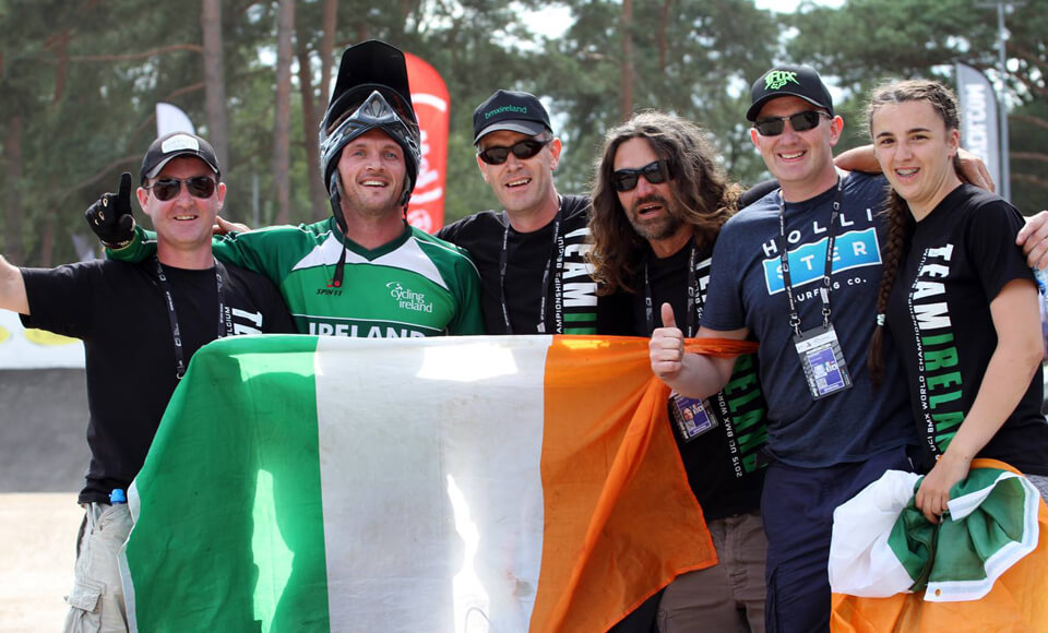 Ireland at BMX Zolder Worlds 2015 - BMX Ireland