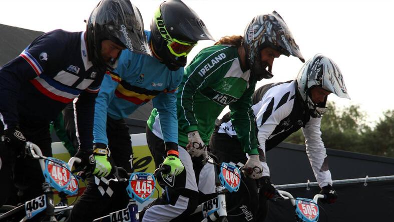 Steve Bell Zolder Worlds Gate 2015 - BMX Ireland