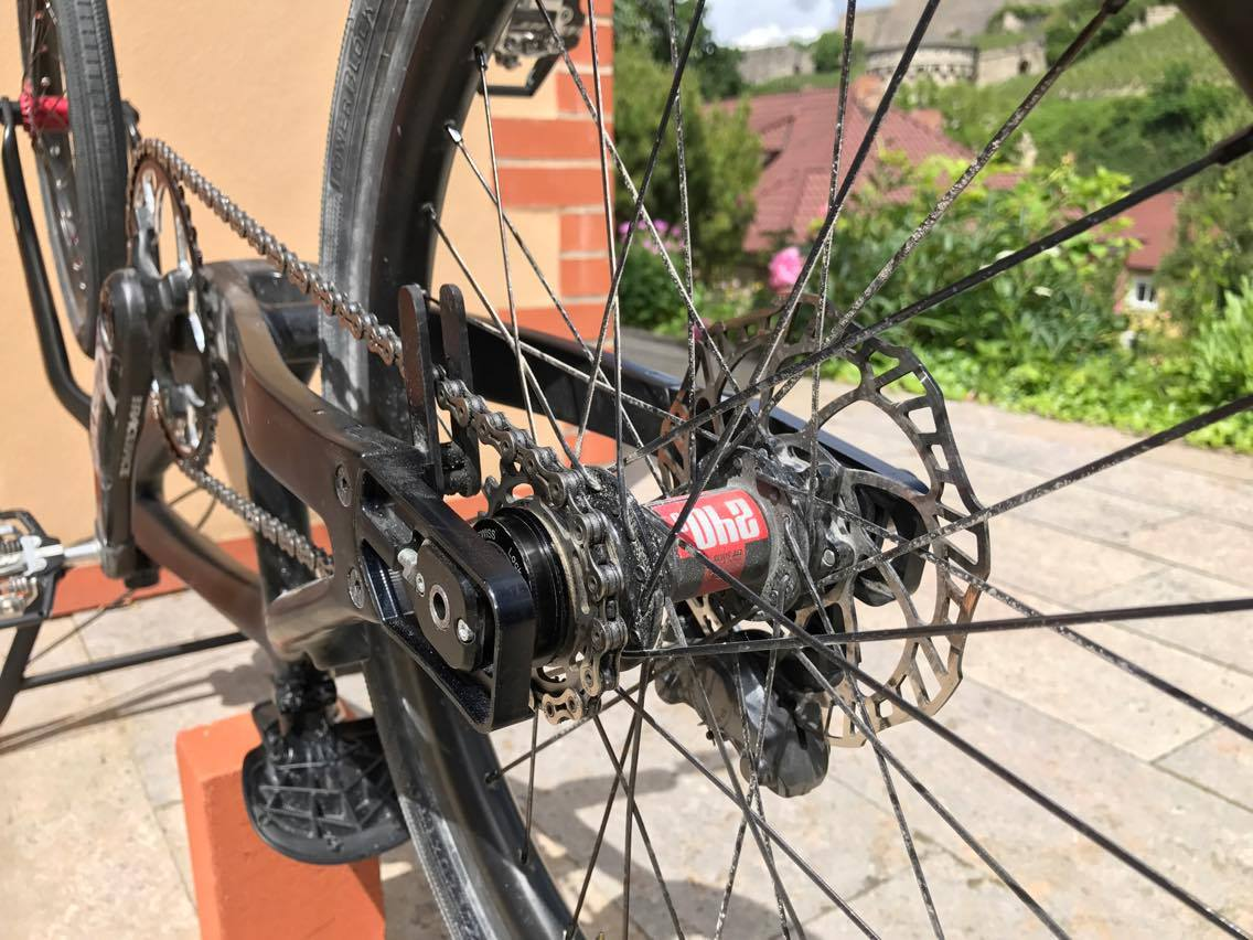 David Graf Mechanical Advantage - Back End Set-up
