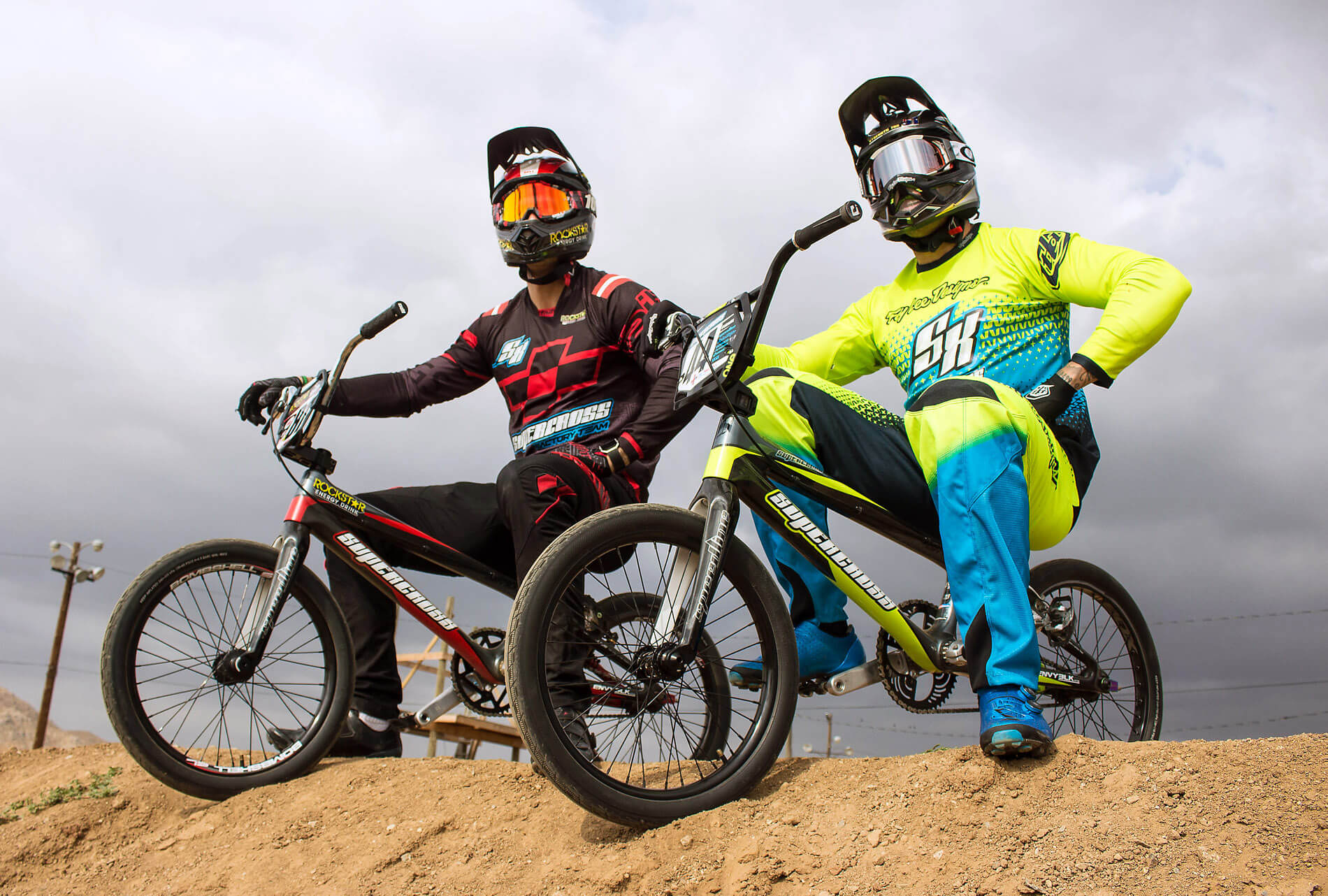 Maris Strombergs and Anthony Dean - Supercross BMX