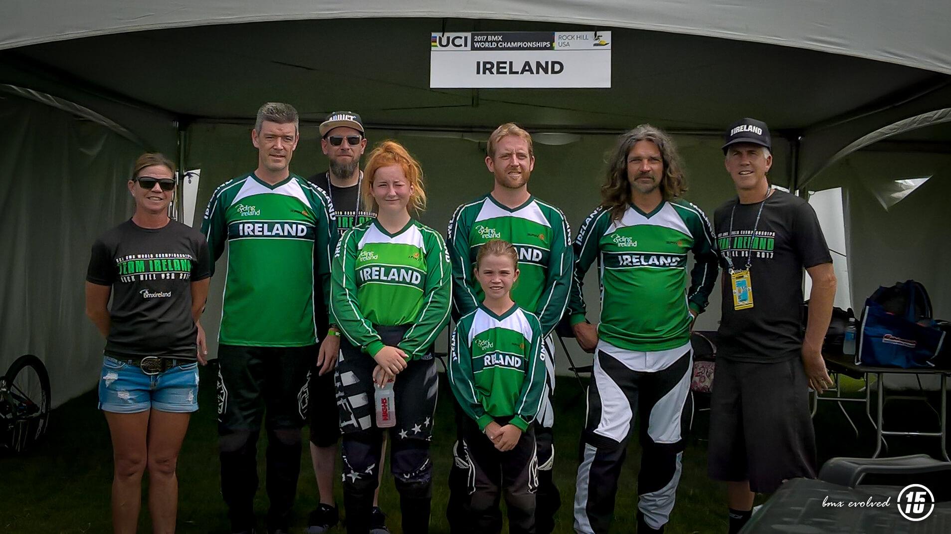 2017 Irish Worlds Team