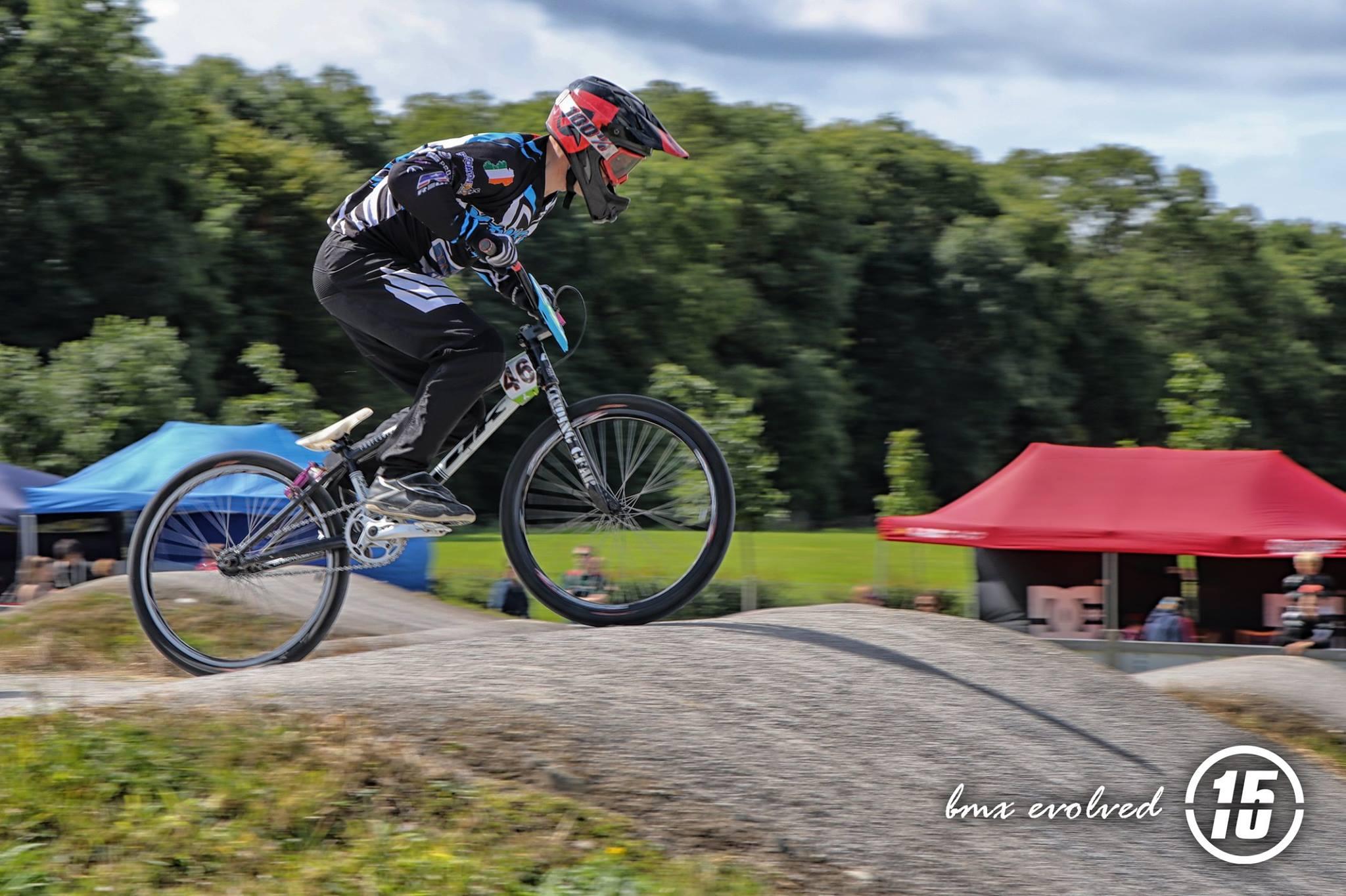 Eugene Jackson at Lucan BMX - Fifteen BMX