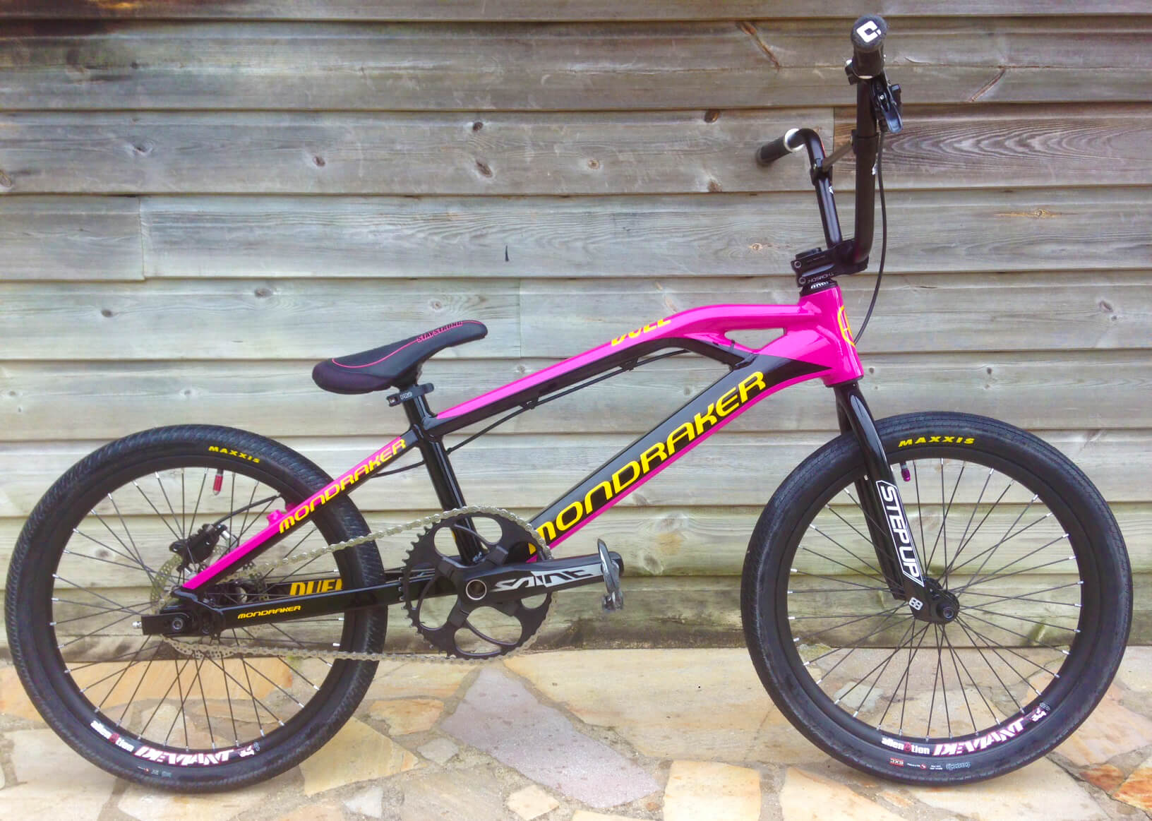 Charly Gaillard Mondraker Bike Check Fifteen BMX