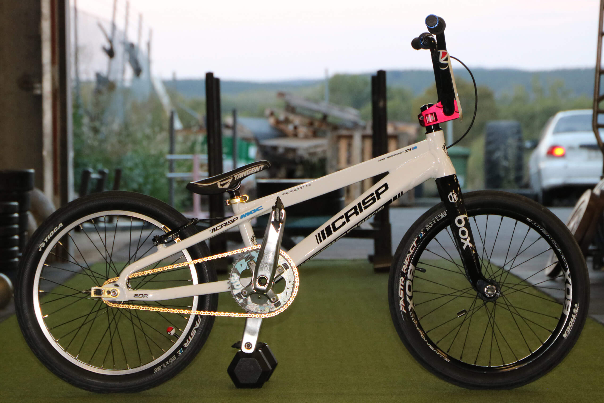 Harriet Burbidge-Smith Crisp Bros Bike Check