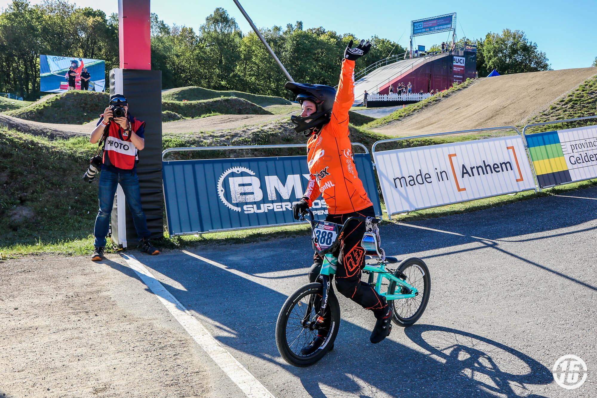 Judy Baauw 2018 R3 UCI SX Papendal - Fifteen BMX