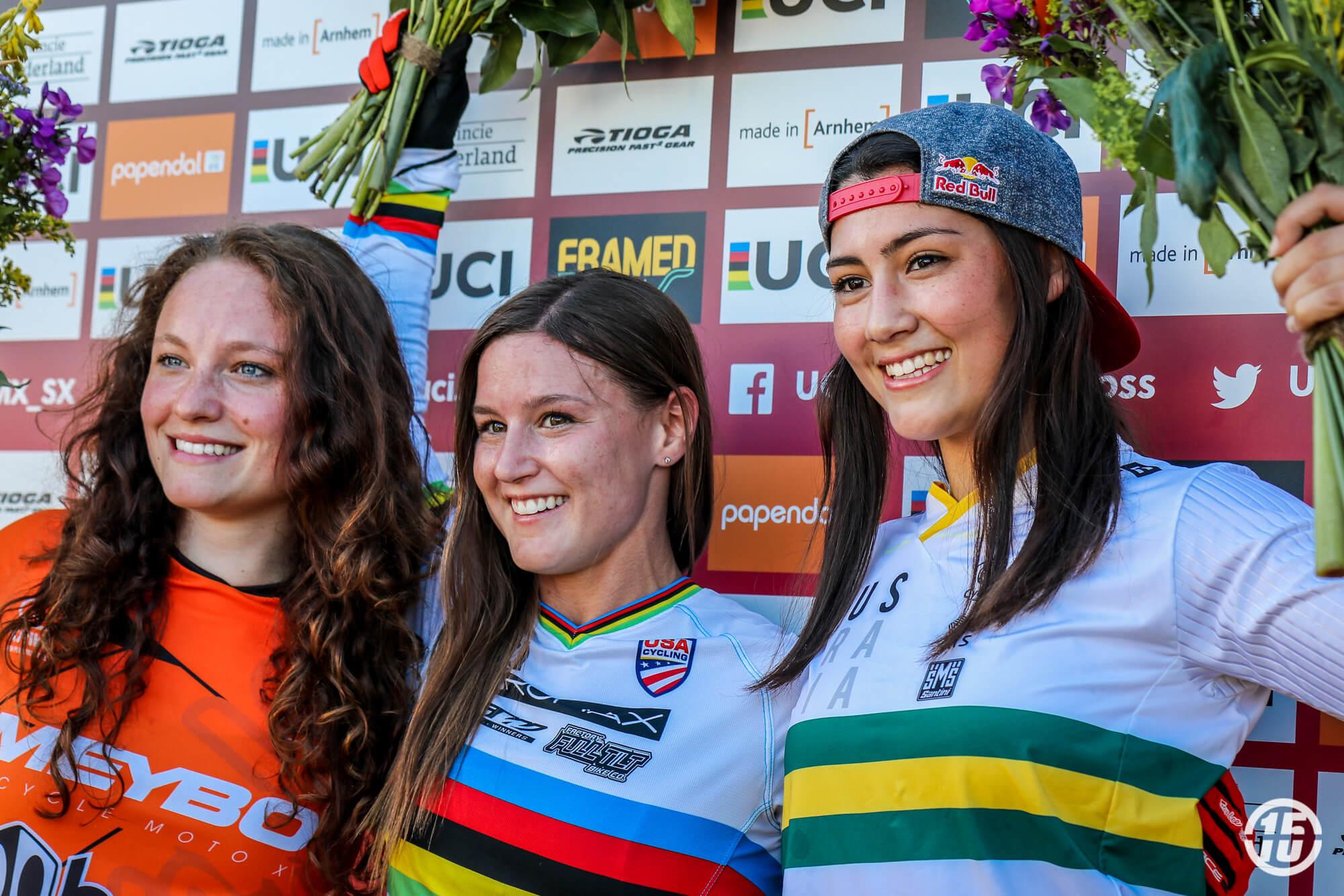 Judy Baauw 2018 R4 UCI SX Papendal - Fifteen BMX