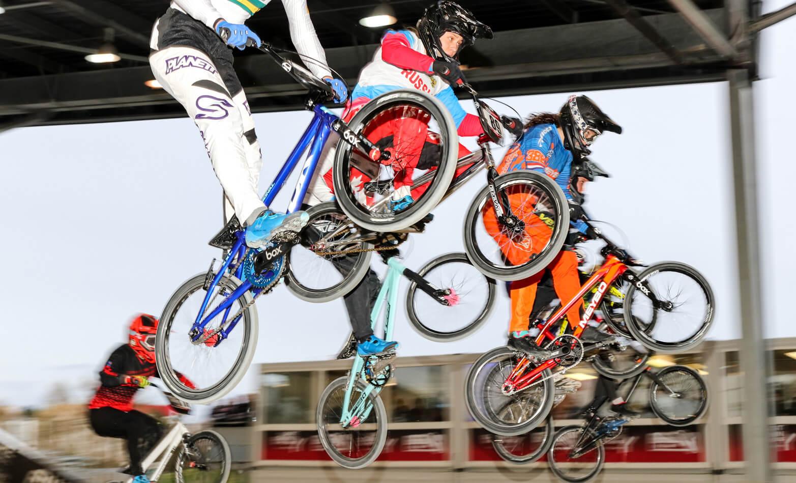 Judy Baauw UCI SX Paris R2 2018 - Fifteen BMX