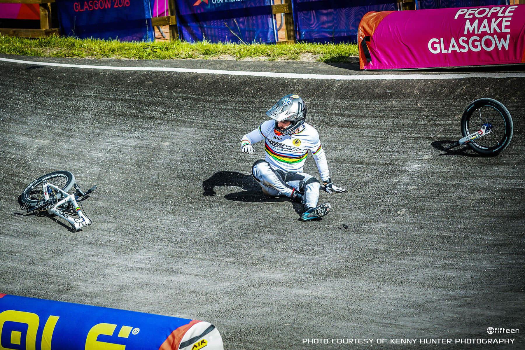 Sylvain Andre Glasgow Crash - Kenny Hunter