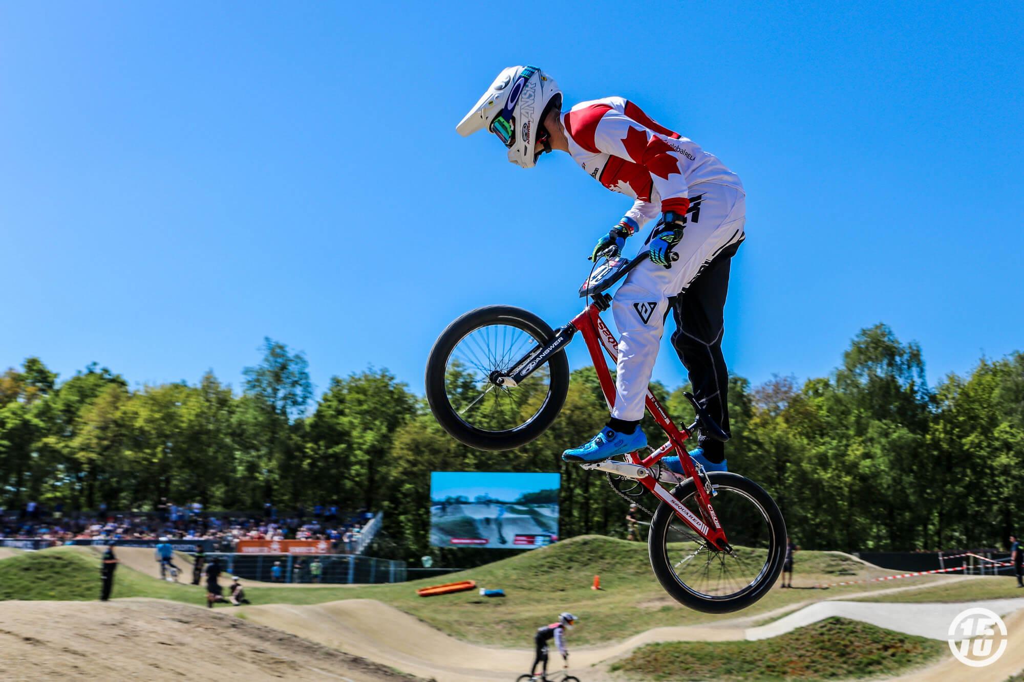 Tory Nyhaug Papendal 2018 - Fifteen BMX
