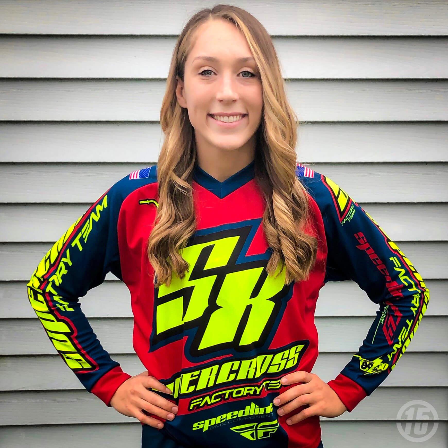 Felicia Stancil Factory Supercross 2019 - Supercross BMX - Fifteen BMX