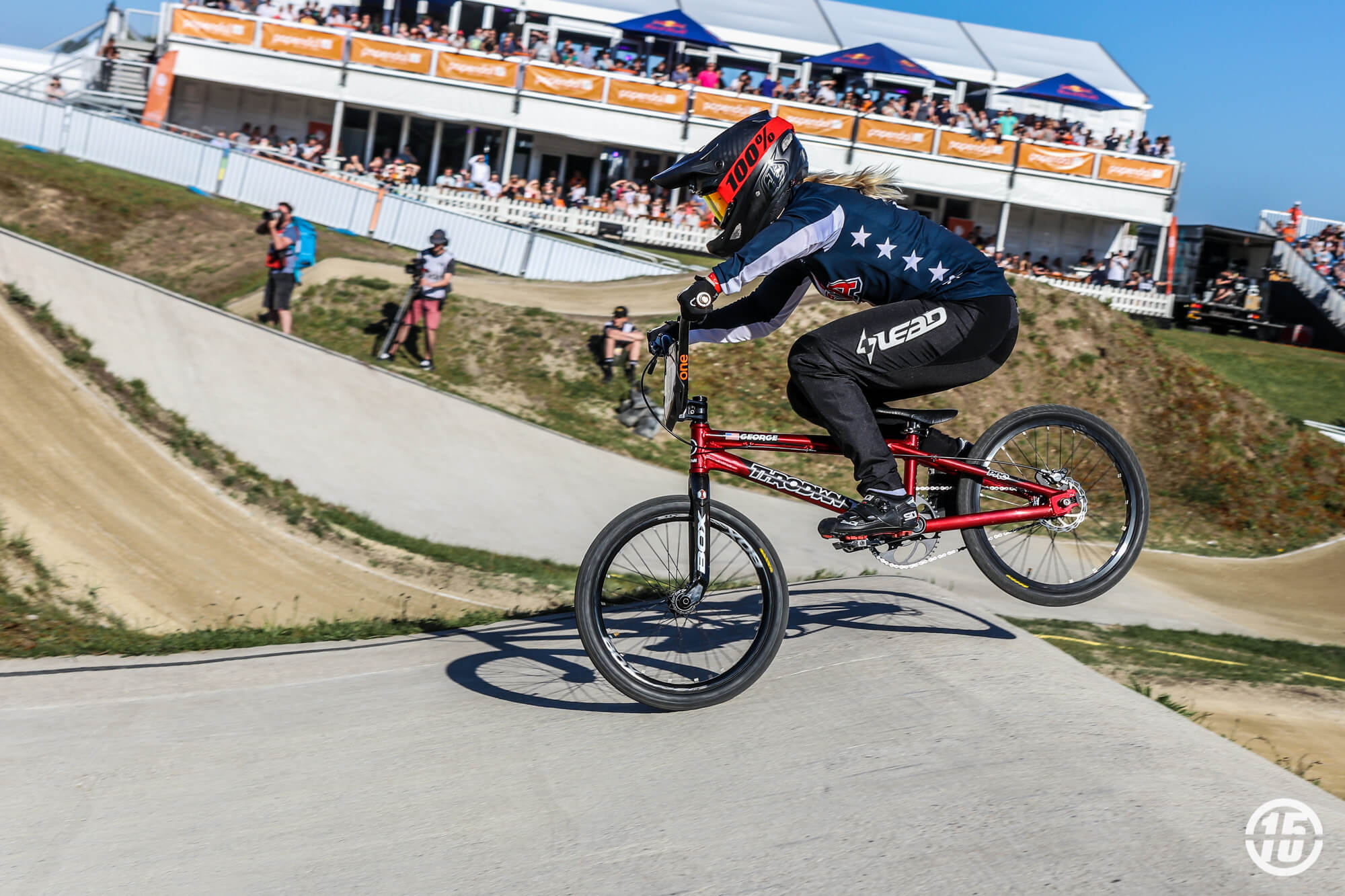 Dani George 2018 R3 UCI SX Papendal - Fifteen BMX