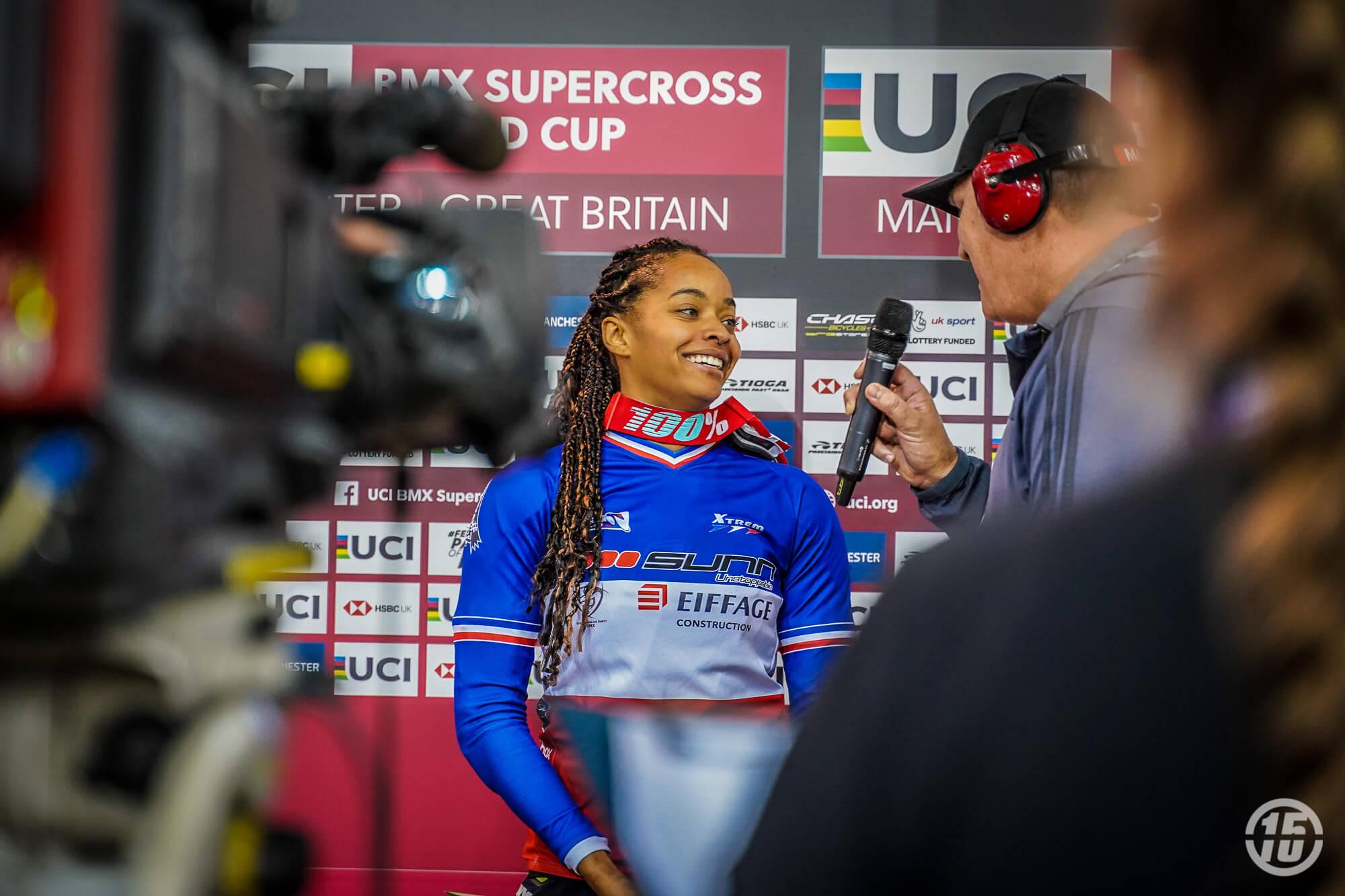 Manchester UCI SX - Fifteen BMX