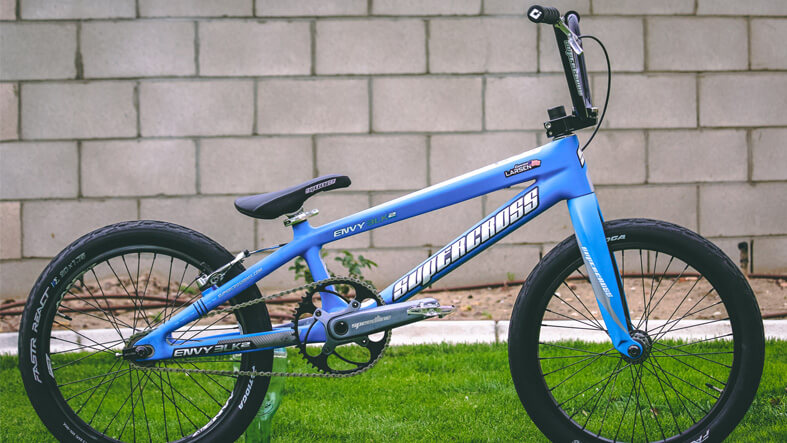 Kam Larsen | 2019 Flame Blue Supercross Envy BLK2
