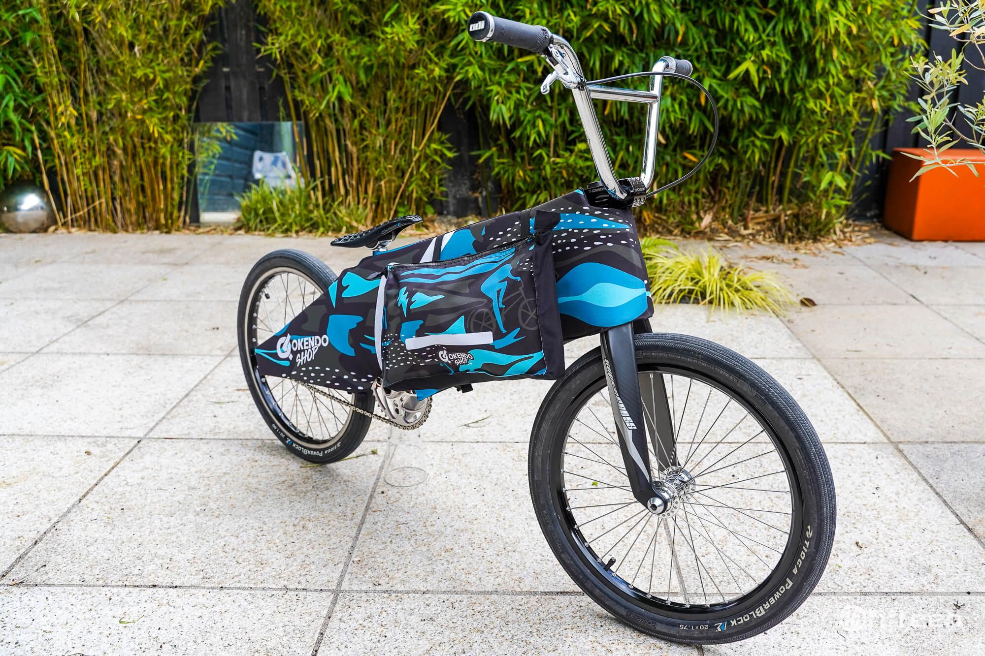 Okendo Bike Travel Pads - Fifteen BMX Review